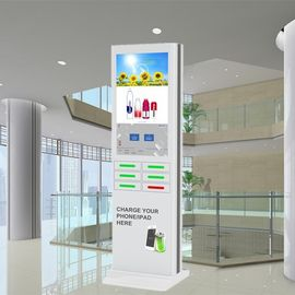 Cina Coin Operated Mobile Phone Charging Station, Ponsel Charger Kiosk pabrik