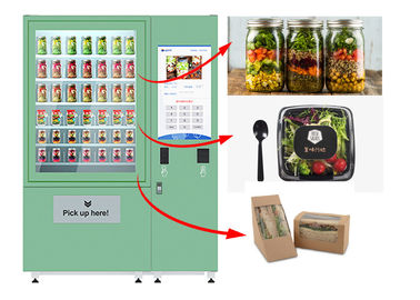 Cina Winnsen Belt Cupcake Vending Machine Fruit Vegetables Vending Loker Dengan Sistem Angkat pabrik