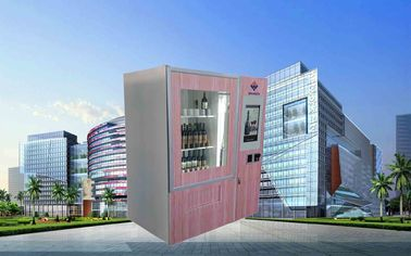 Cina CE FCC Winnsen Wine Vending Machine For Shopping Mall With Credit Card Reader Payment pabrik