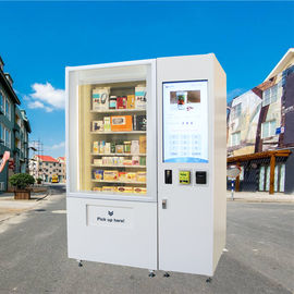 Cina Touch Screen Coin Dioperasikan Mini Mart Vending Machine Untuk Kosmetik Gift Game pabrik