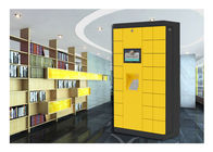 Library Electronic Luggage Lockers Automatic Storage Lockers With Big Touch Screen