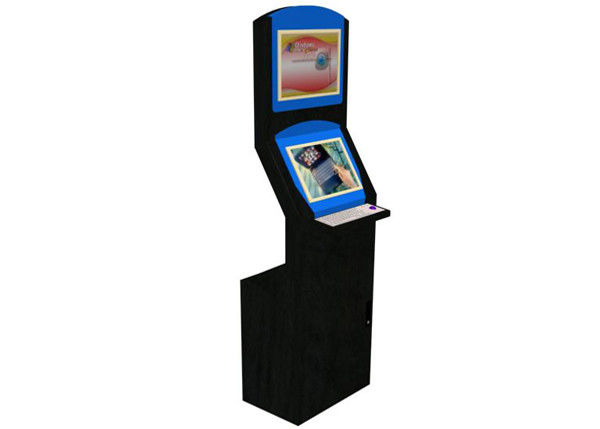 Informasi Inquiry LCD Digital Signage Touch Screen Kiosk Floor Standing pemasok