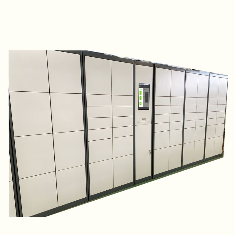 Automated electronic parcel delivery lockers, parcel collection lockers
