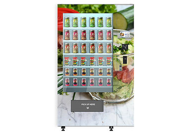University School Intelligent Salad Vending Machine, Automated Salad Vending Tower
